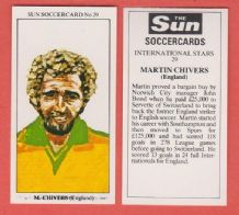 England Martin Chivers Norwich City